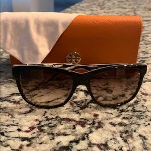 Tory Burch Sunglasses with Case and Pouch!